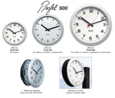 Analog Clocks - Profile 900 Series